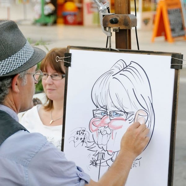 Engagement Party Entertainment Ideas  Caricaturists Entertainment