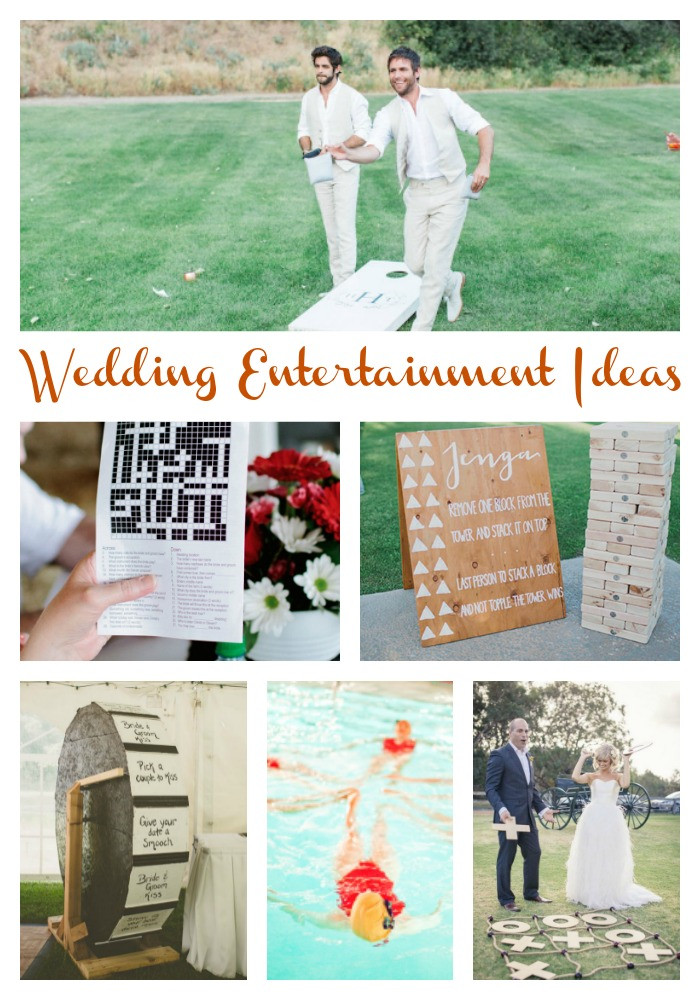 Engagement Party Entertainment Ideas  20 Wedding Games and Entertainment Ideas Aisle Perfect