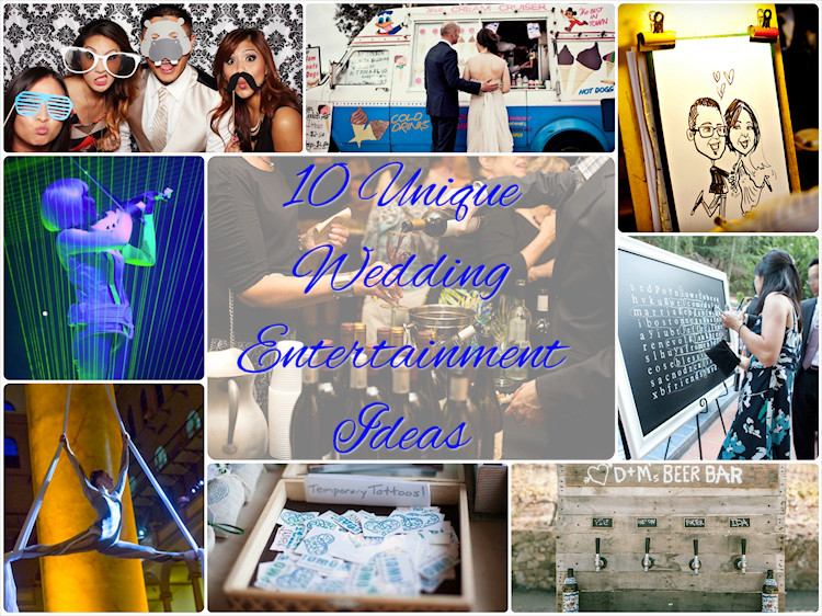 Engagement Party Entertainment Ideas  10 Unique Wedding Entertainment Ideas