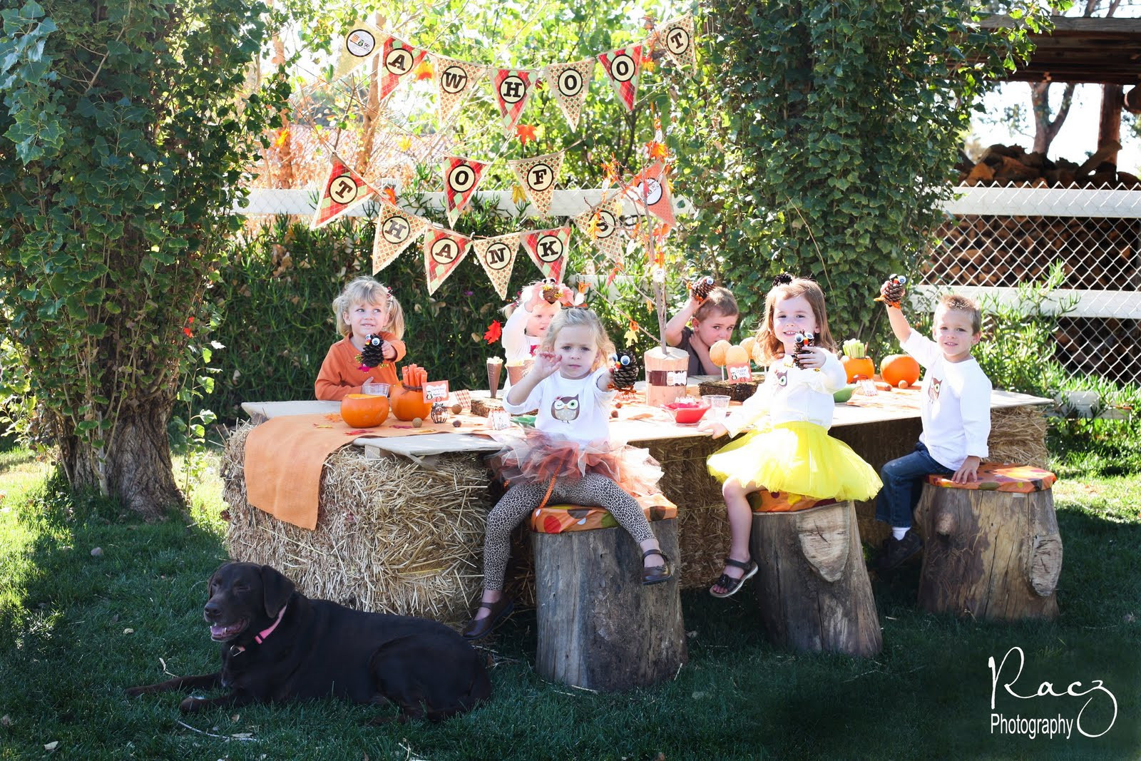 Fall Backyard Party Ideas  The Savvy Moms Guide A Whoot of Thanks