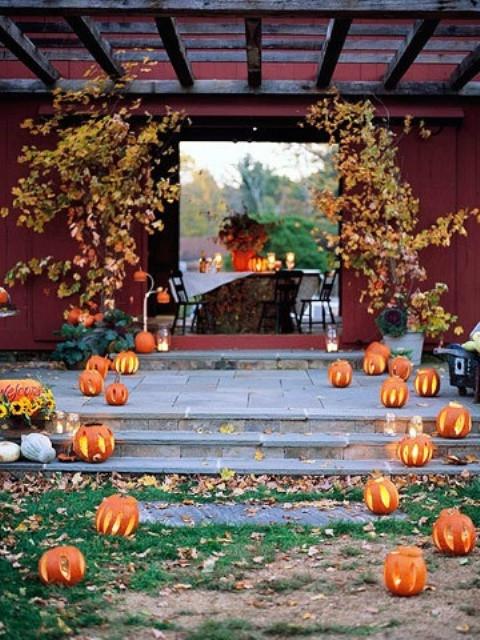 Fall Backyard Party Ideas  36 Awesome Outdoor Décor Fall Wedding Ideas Weddingomania