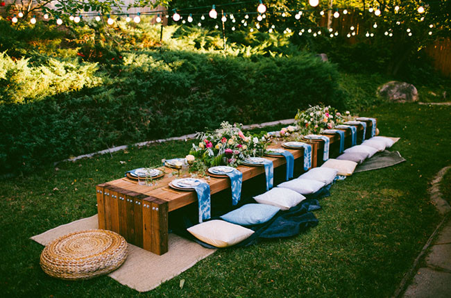 Fall Backyard Party Ideas  10 Tips to Throw a Boho Chic Outdoor Dinner Party