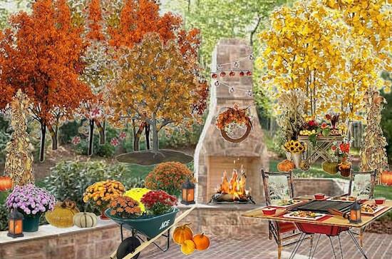 Fall Backyard Party Ideas  Olioboard Inspiration Festive Fall Outdoor Entertaining Ideas