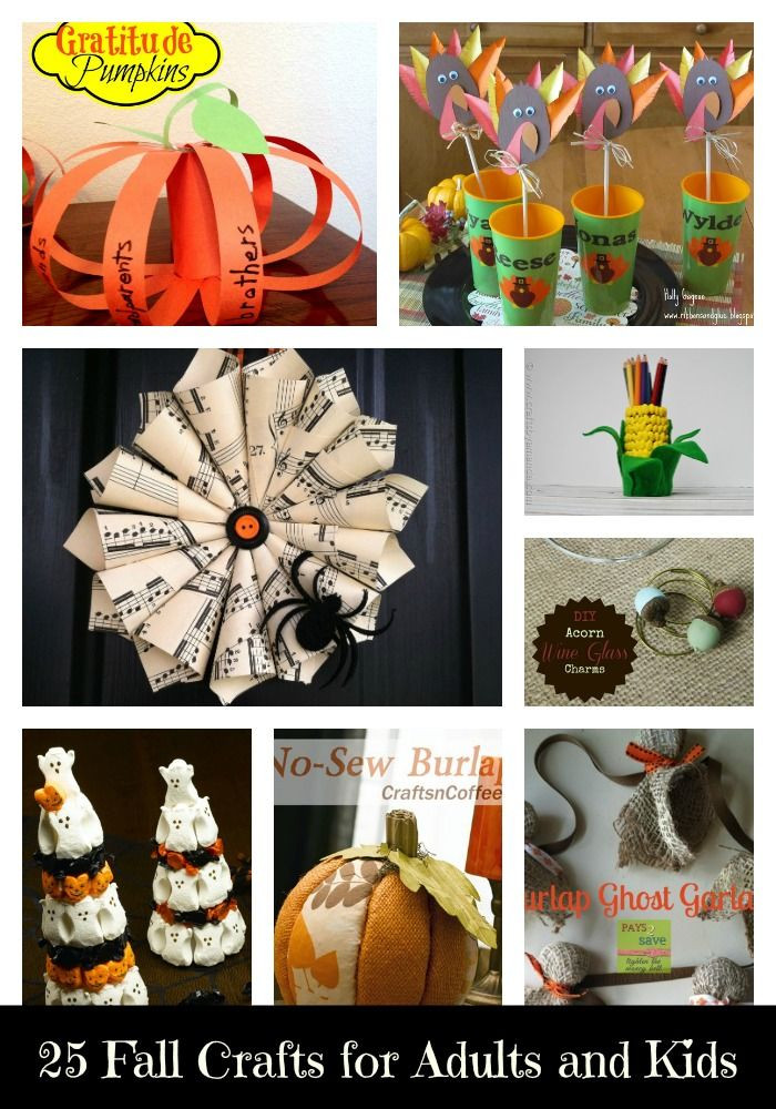 Fall Craft For Adults  25 Fall Crafts for Adults and Kids Mom s Madhouse