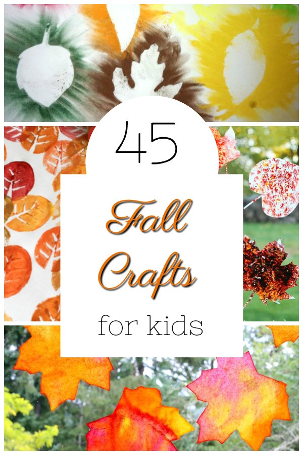 Fall Craft Ideas For Preschool  45 of the CUTEST Fall Crafts for Kids How Wee Learn
