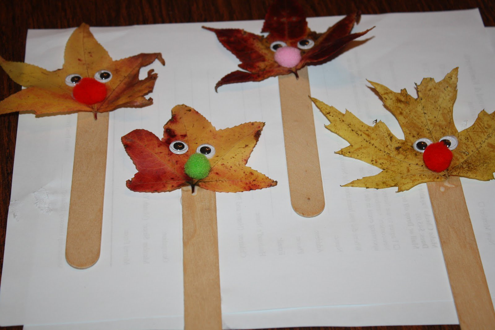 Fall Craft Ideas For Preschool  Show and Saturday Link Up I Can Teach My Child