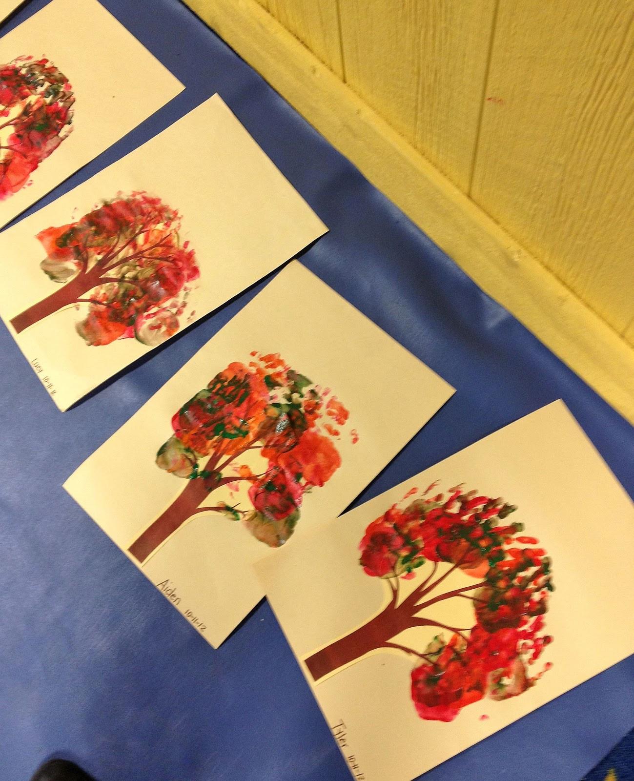 Fall Craft Ideas For Preschool  From The Hive a few leaf fall preschool ideas