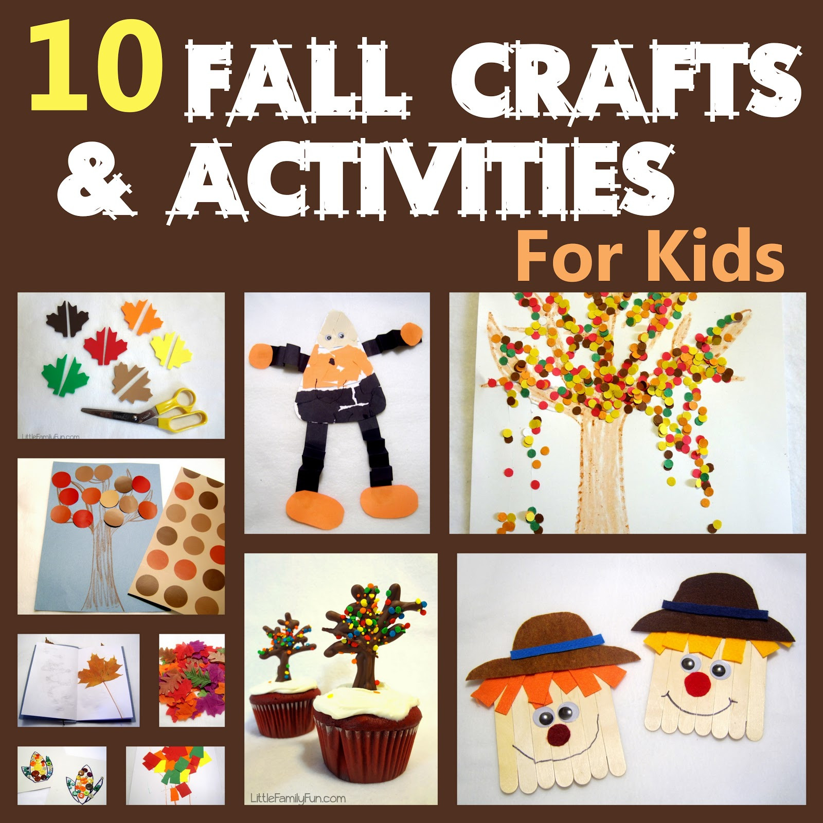 Fall Craft Ideas For Preschool  Little Family Fun Fall Preschool Activities