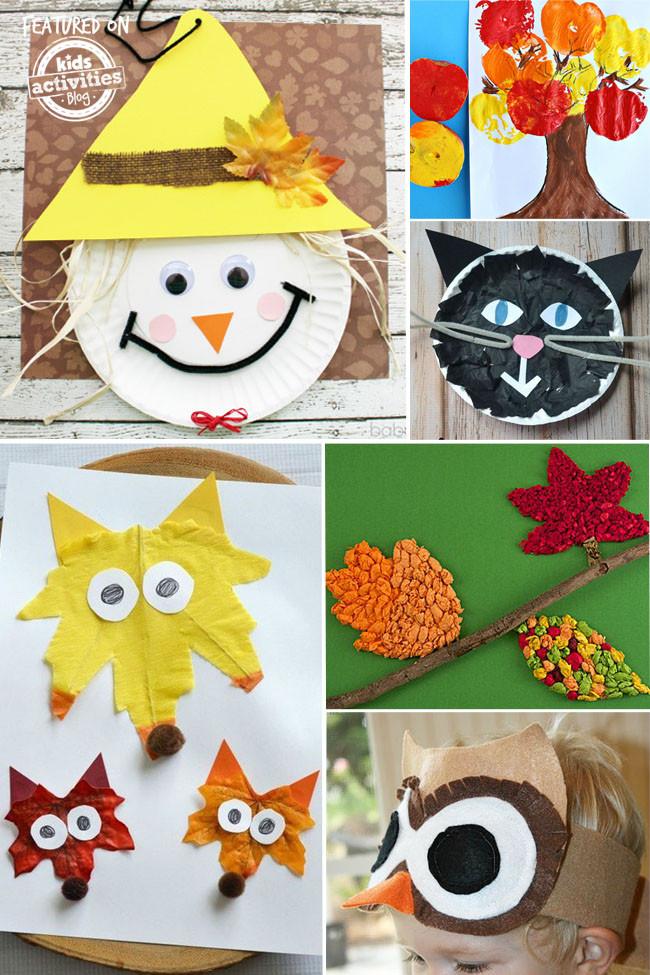 Fall Craft Ideas For Preschool  24 Super Fun Preschool Fall Crafts