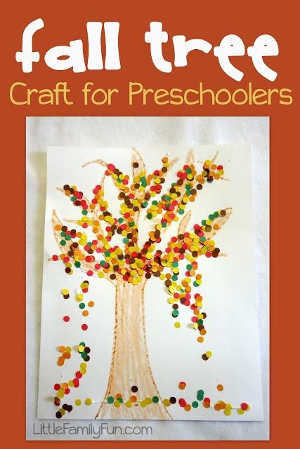 Fall Craft Ideas For Preschool  Easy and cute preschool craft for fall