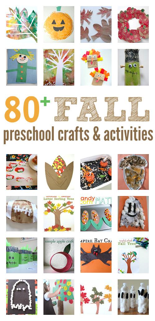 Fall Craft Ideas For Preschool  Fall Craft Ideas for Preschool activities & book lists