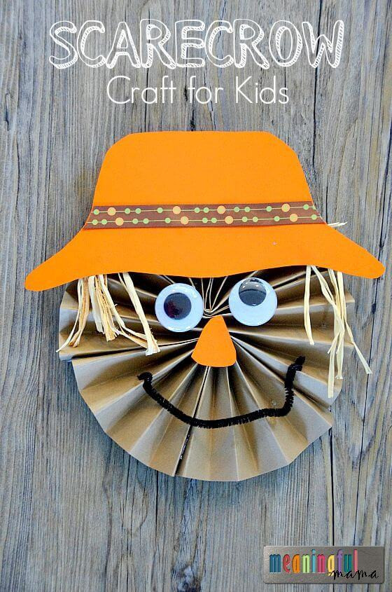 Fall Craft Ideas For Preschool  Easy Fall Kids Crafts That Anyone Can Make Happiness is