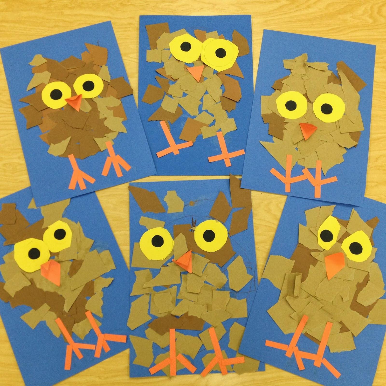 Fall Craft Ideas For Preschool  Art with Mr Giannetto Kindergarten Owlets