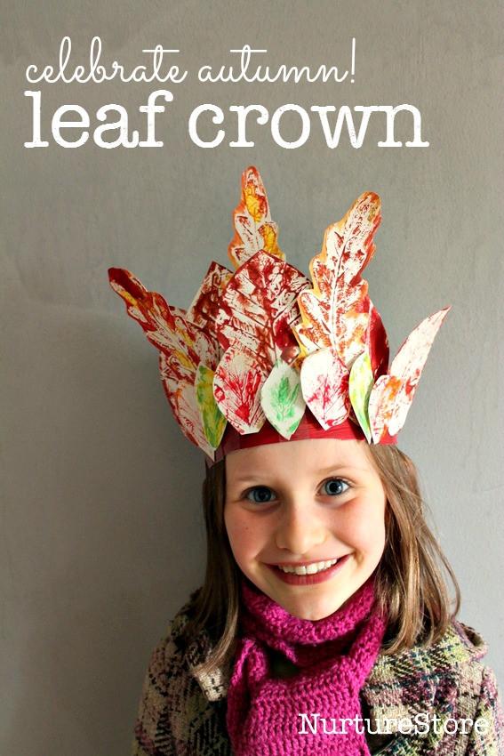 Fall Craft Ideas For Preschool  Leaf Crafts for Kids The Idea Room