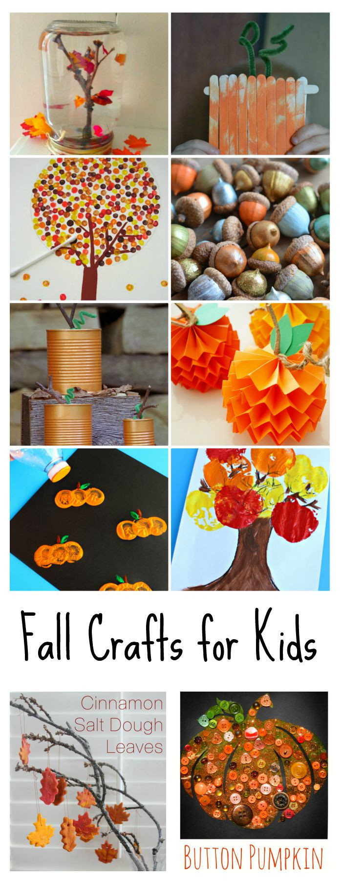 Fall Crafts Ideas For Kids  Fall Crafts for Kids The Idea Room