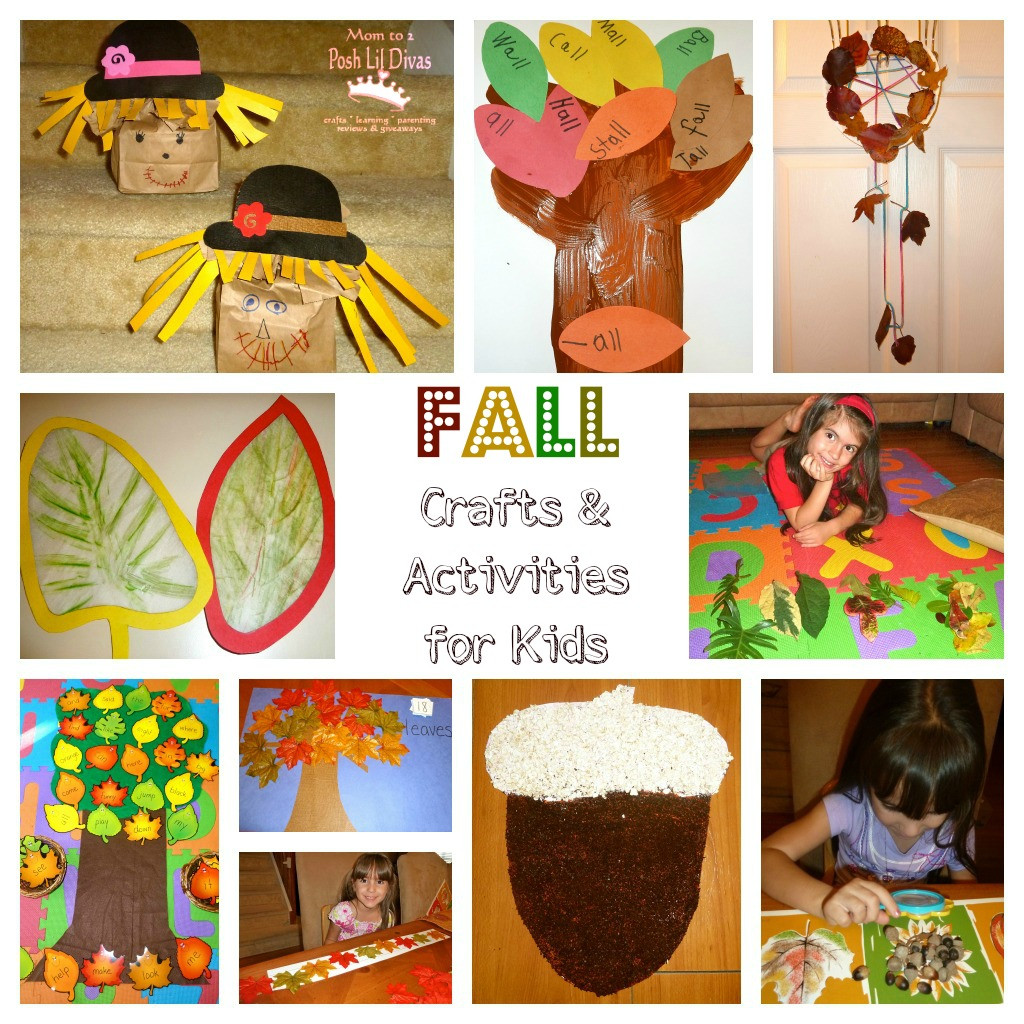 Fall Crafts Ideas For Kids  How about sharing some fall books with your kids and or