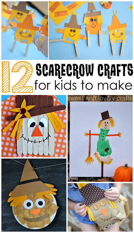 Fall Crafts Ideas For Kids  Scarecrow Crafts for Kids to Make this Fall Crafty Morning