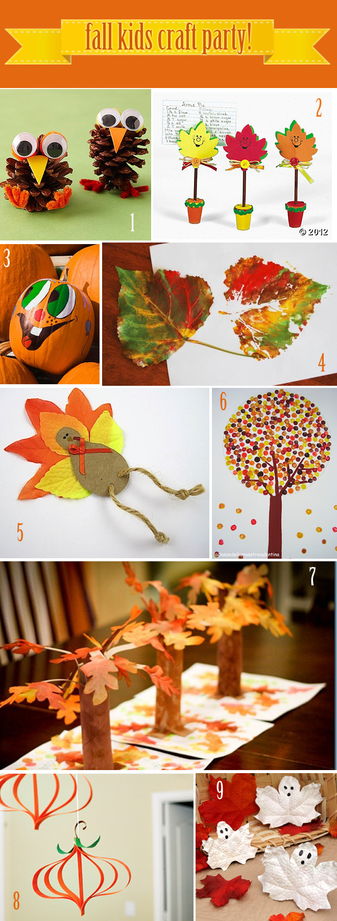 Fall Crafts Ideas For Kids  9 Fall Craft Ideas For Kids