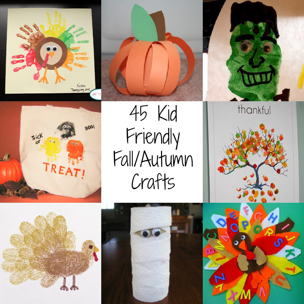 Fall Crafts Ideas For Kids  Autumn Art Projects For Kids Autumn Crafts Picture