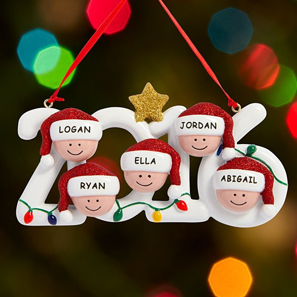 Family Christmas Gift Ideas 2019  Personalized Christmas Ornaments at Gifts