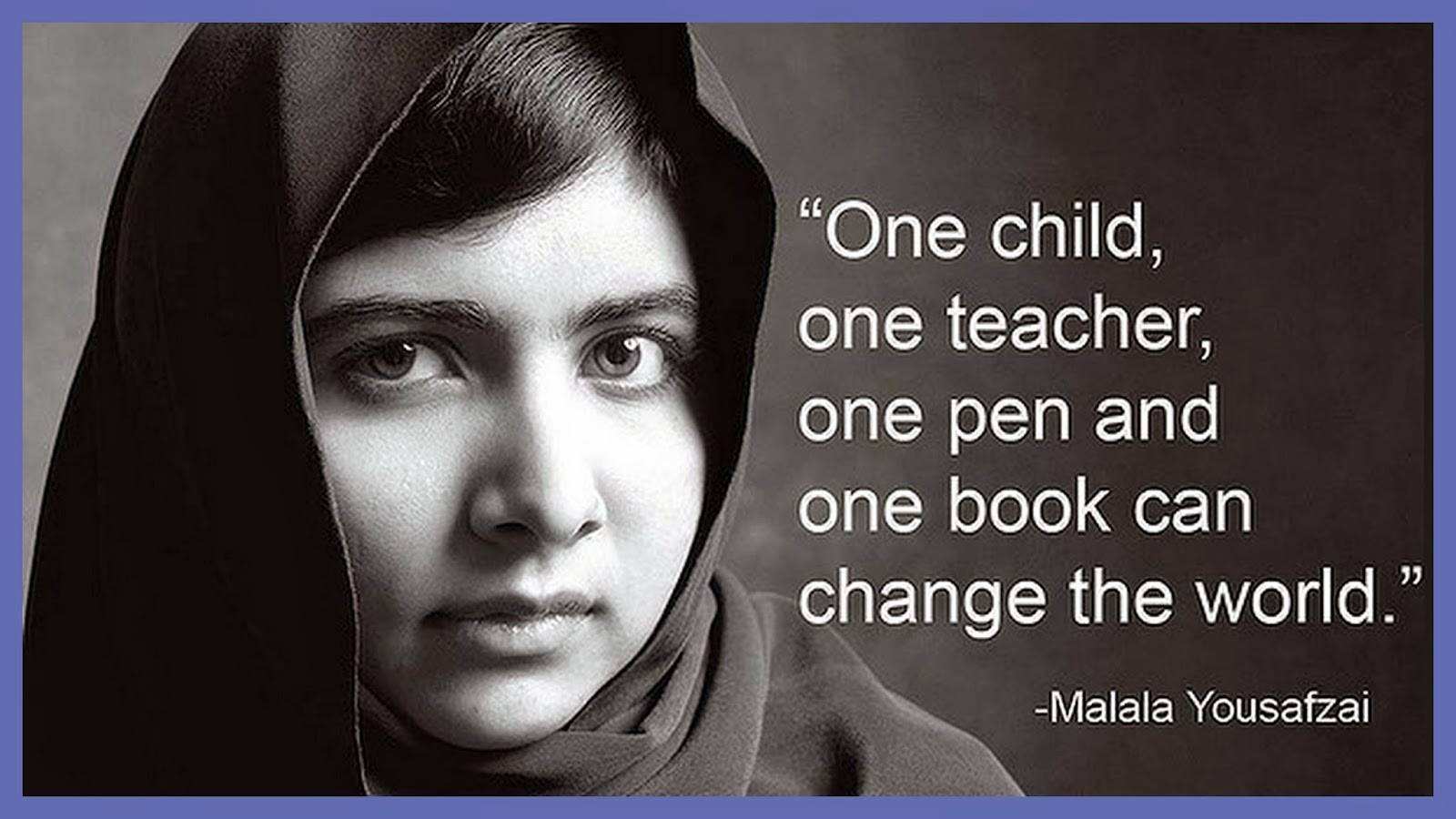 Famous Education Quotes  Re Train Your Brain To Happiness Malala Yousafzai Quotes
