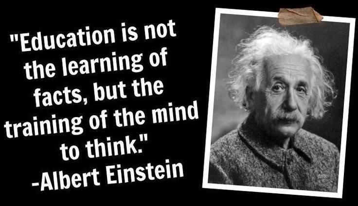 Famous Education Quotes  Famous Education Quotes By Albert Einstein – Quotesta