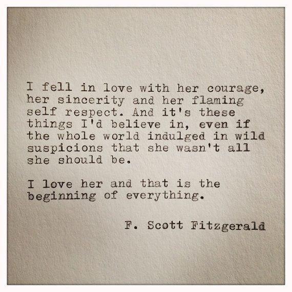Famous Romantic Quotes  Famous Love Quotes F Scott Fitzgerald – True Romance Weddings