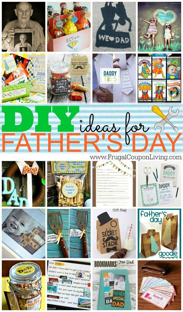 Father'S Day Gift Ideas  DIY Fathers Day Gift Ideas with FREE Printables for Him
