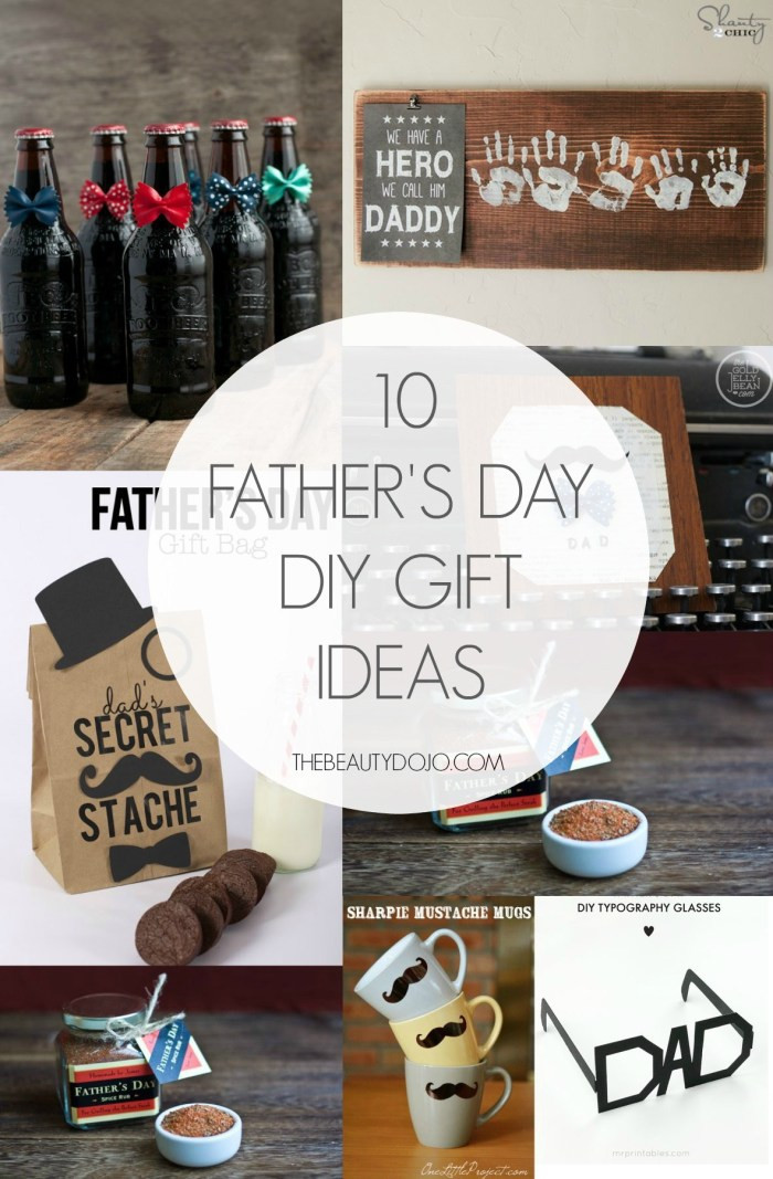 Father'S Day Gift Ideas  10 Father s Day DIY Gift Ideas The Beautydojo