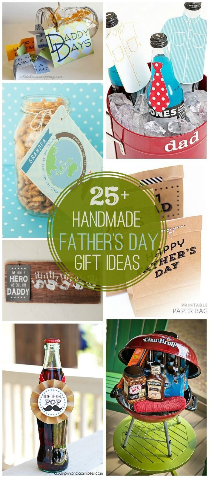 Father'S Day Gift Ideas From Toddler  25 DIY Father s Day Gift Ideas a great collection of