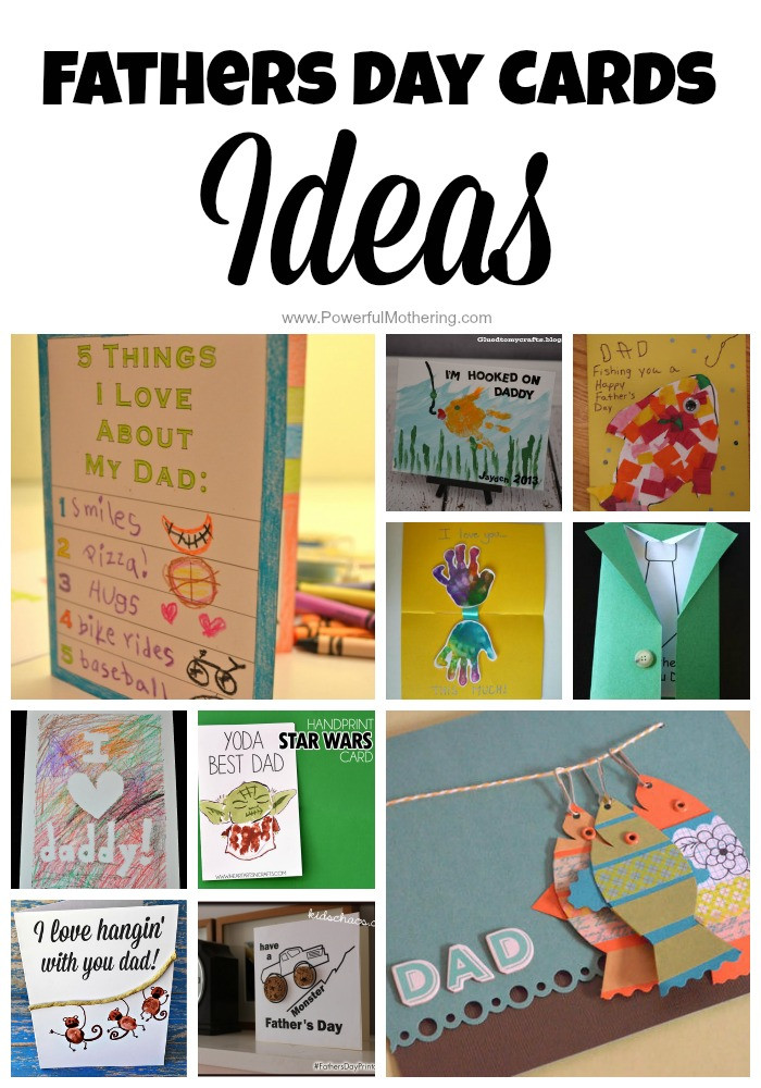 Father'S Day Gift Ideas From Toddler  Fathers Day Cards Ideas for Toddlers & Preschoolers