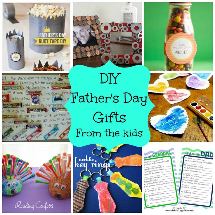 Father'S Day Gift Ideas From Toddler  diy kids presents for dad