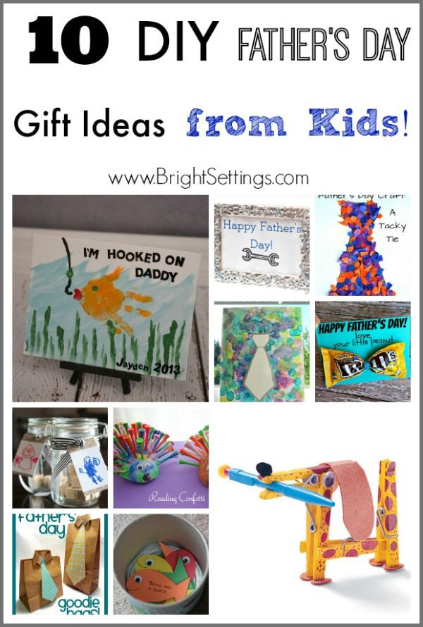 Father'S Day Gift Ideas From Toddler  10 DIY Father s Day Gift Ideas from Kids — keep the kids
