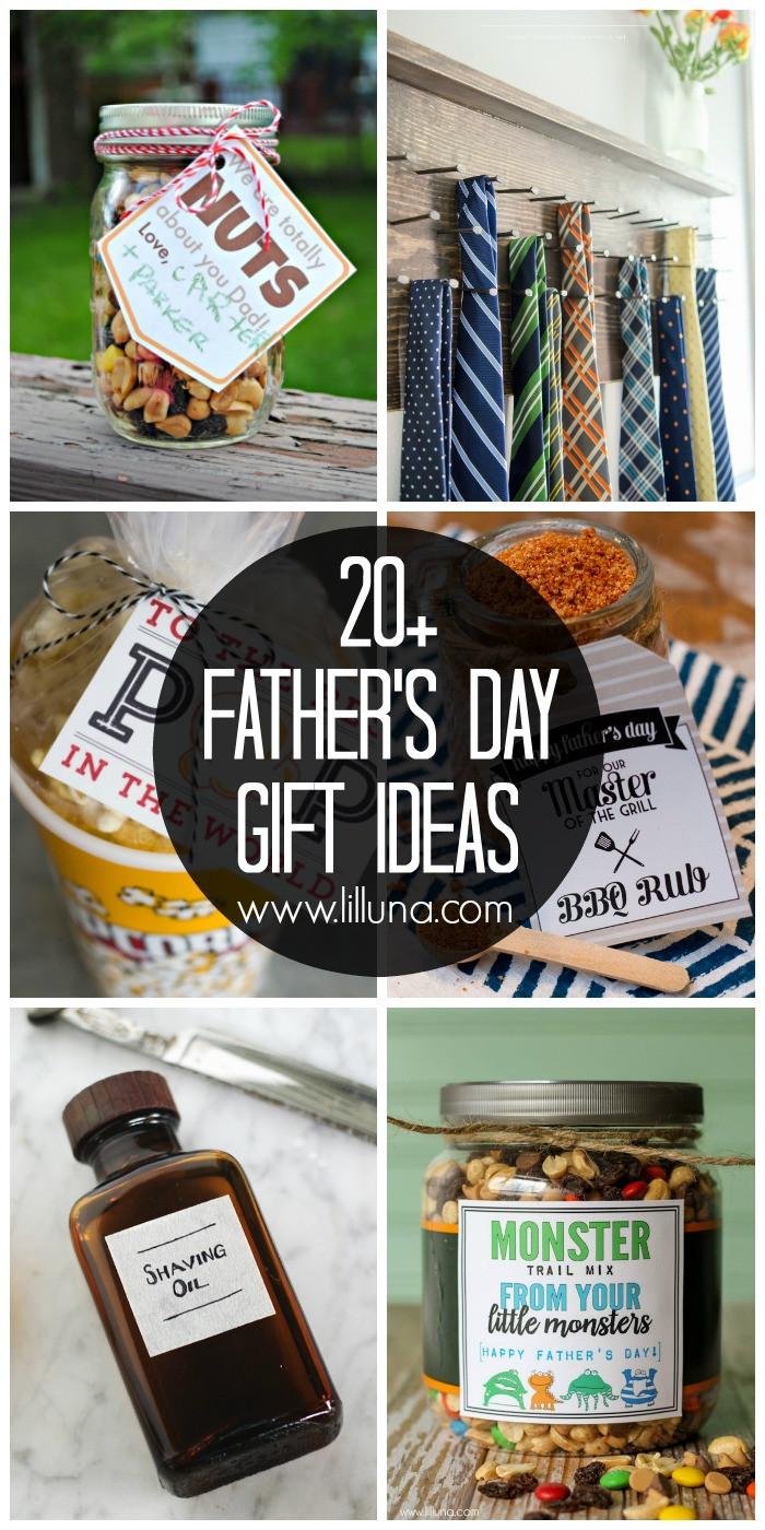 Father'S Day Gift Ideas From Toddler  20 DIY Father s Day Gift Ideas Lil Luna