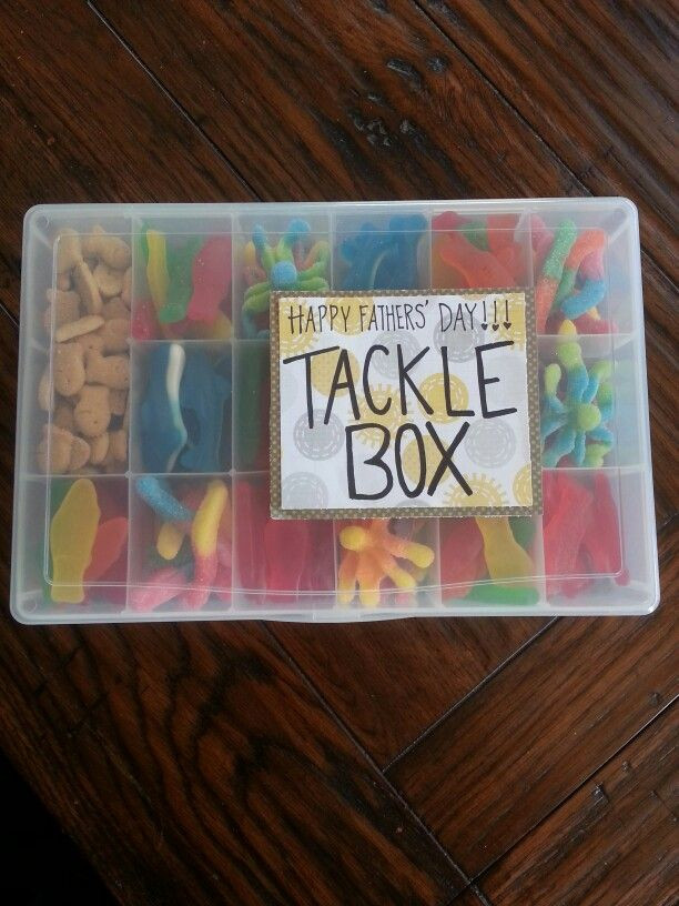 Father'S Day Gift Ideas  Fathers day t candy tackle box