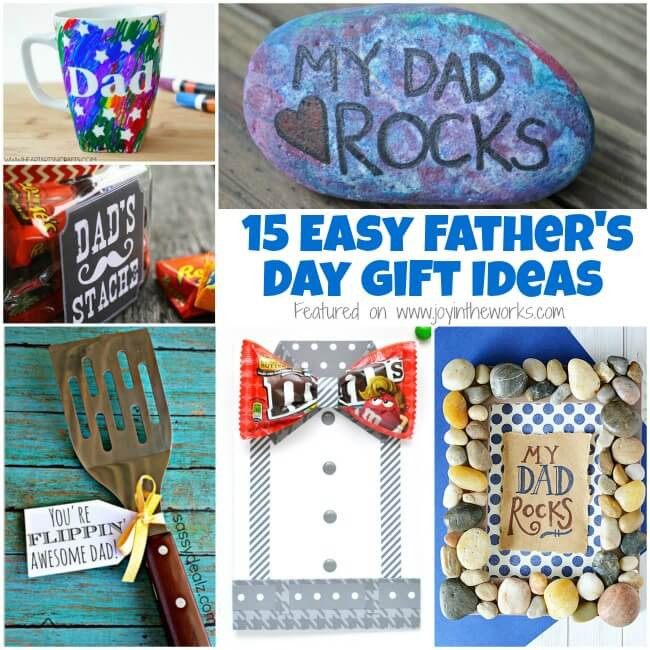 Father'S Day Gift Ideas  15 Easy Father s Day Gift Ideas Joy in the Works