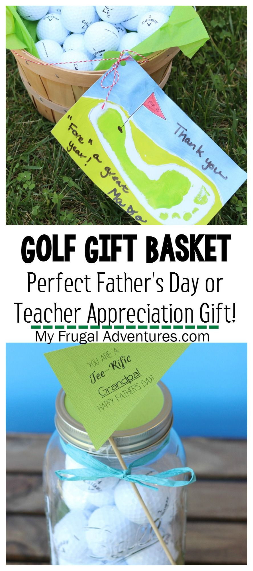 Father'S Day Golf Gift Ideas  Golf Gift Basket Teacher Appreciation Gift or Father s