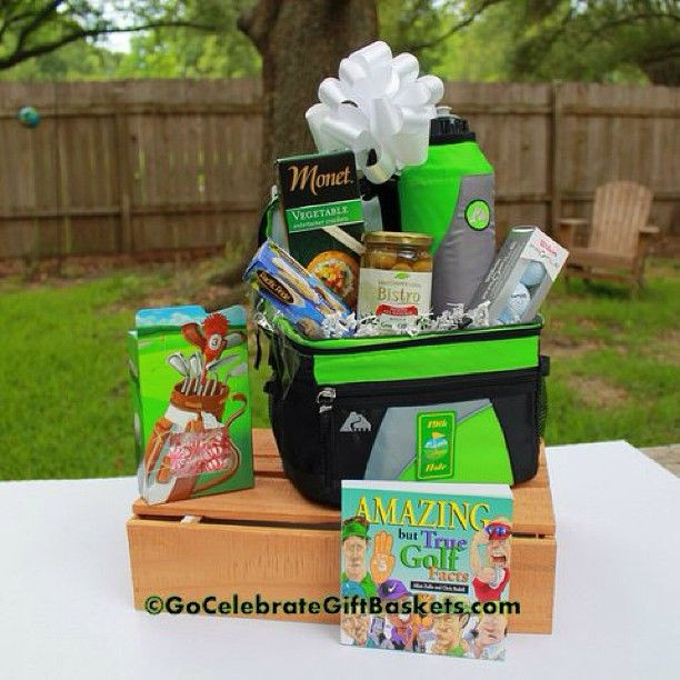 Father'S Day Golf Gift Ideas  golf t basket Father s Day Gifts Pinterest