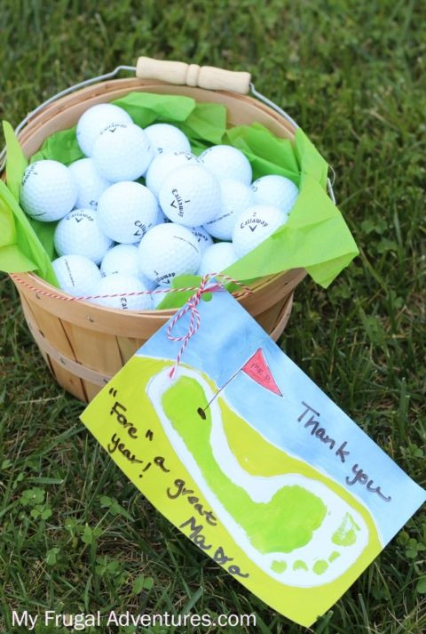 Father'S Day Golf Gift Ideas  25 best ideas about Golf t baskets on Pinterest