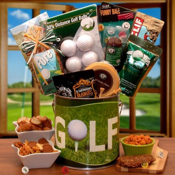Father'S Day Golf Gift Ideas  40 Christmas Gift Baskets Ideas Christmas Celebration