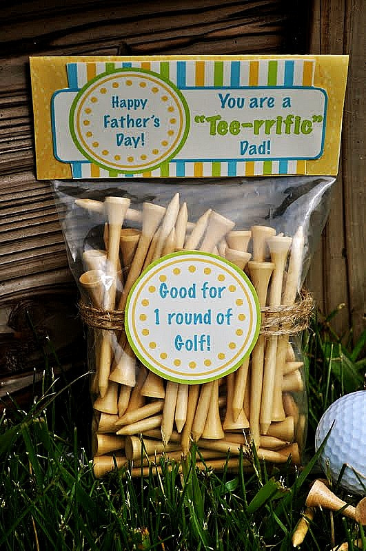 """Father'S Day Golf Gift Ideas  Father s Day """"Tee rrific"""" Gift Idea"""