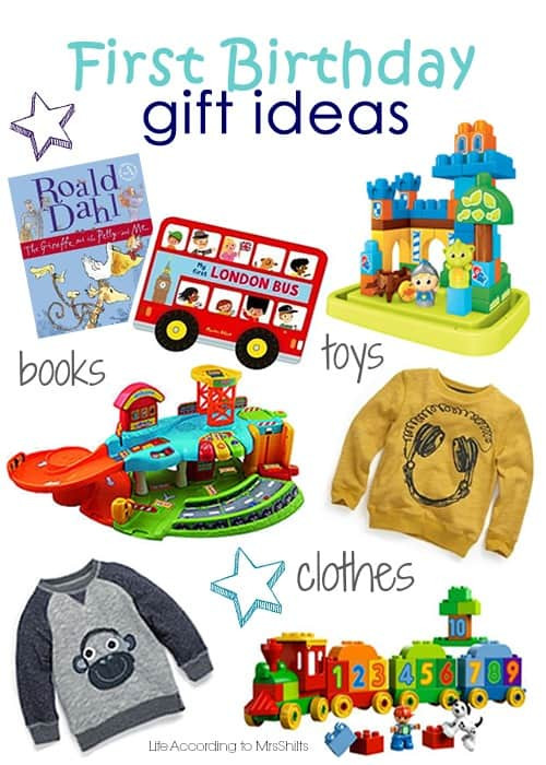 First Baby Gift Ideas  Life According to MrsShilts First Birthday t ideas