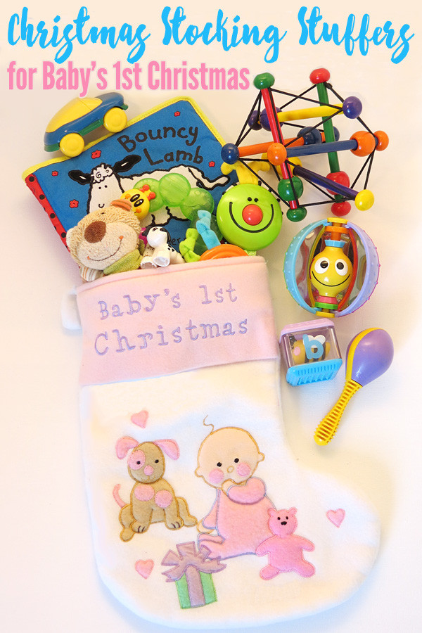 First Baby Gift Ideas  Christmas Stocking Stuffers for Baby s 1st Christmas
