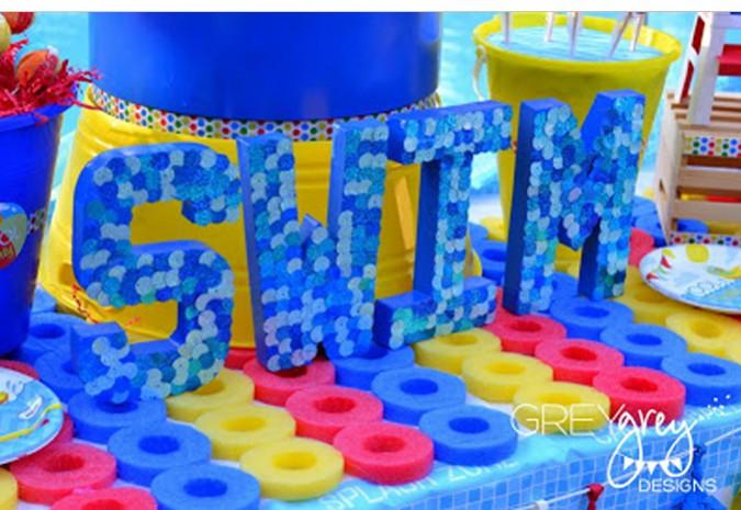 First Birthday Pool Party Ideas  Pool Party Birthday Theme