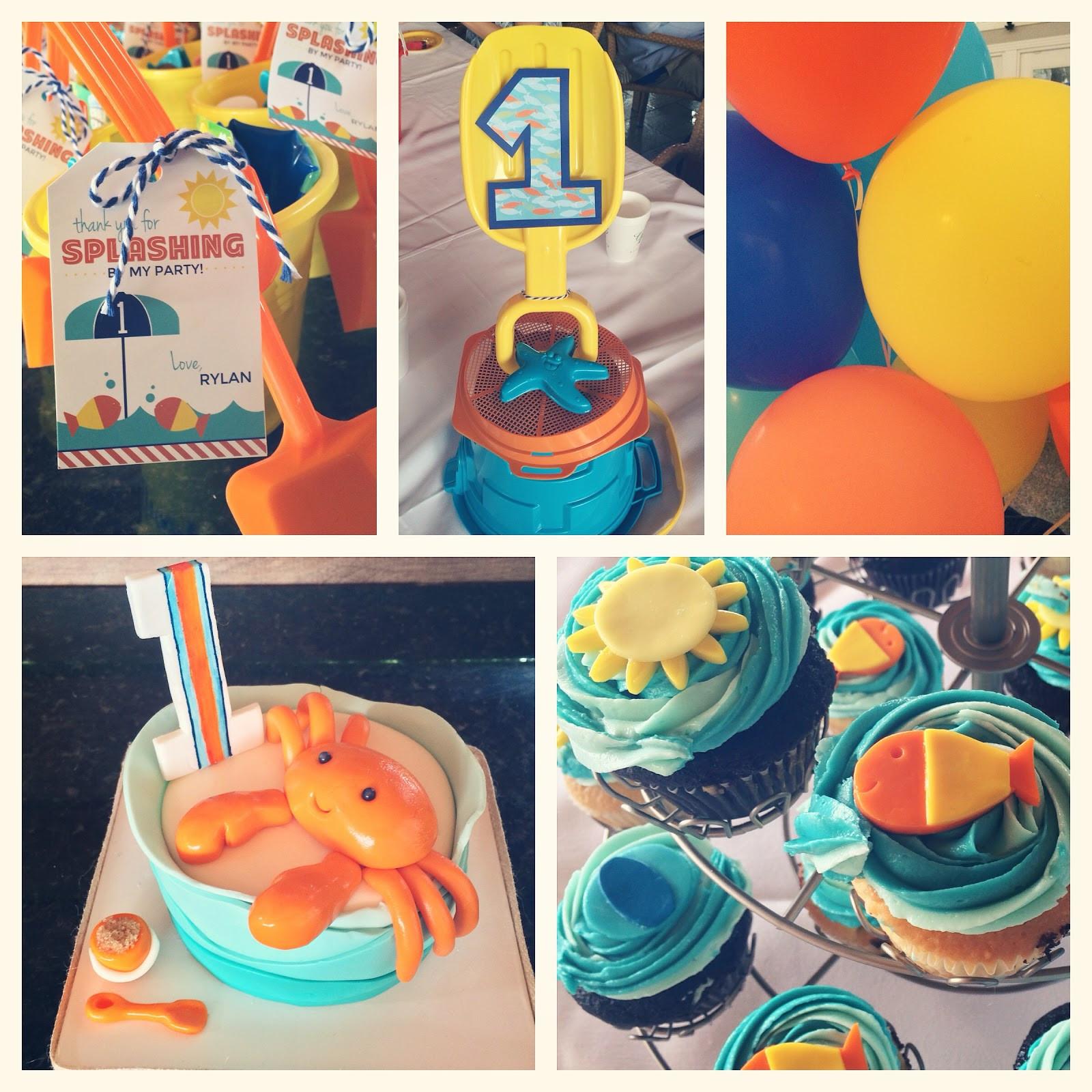 First Birthday Pool Party Ideas  Team Shep Blog Rylan s First Birthday Pool Party
