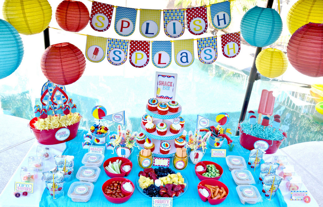 First Birthday Pool Party Ideas  Four Great Birthday Pool Party Ideas to Make a Memorable