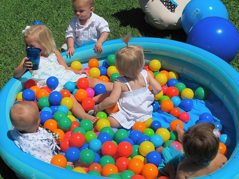First Birthday Pool Party Ideas  1st Birthday Pool Party Ideas