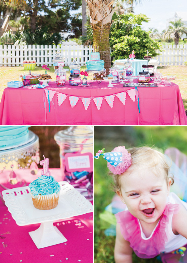 First Birthday Pool Party Ideas  A Fabulous Flamingo First Birthday Pool Party Hostess