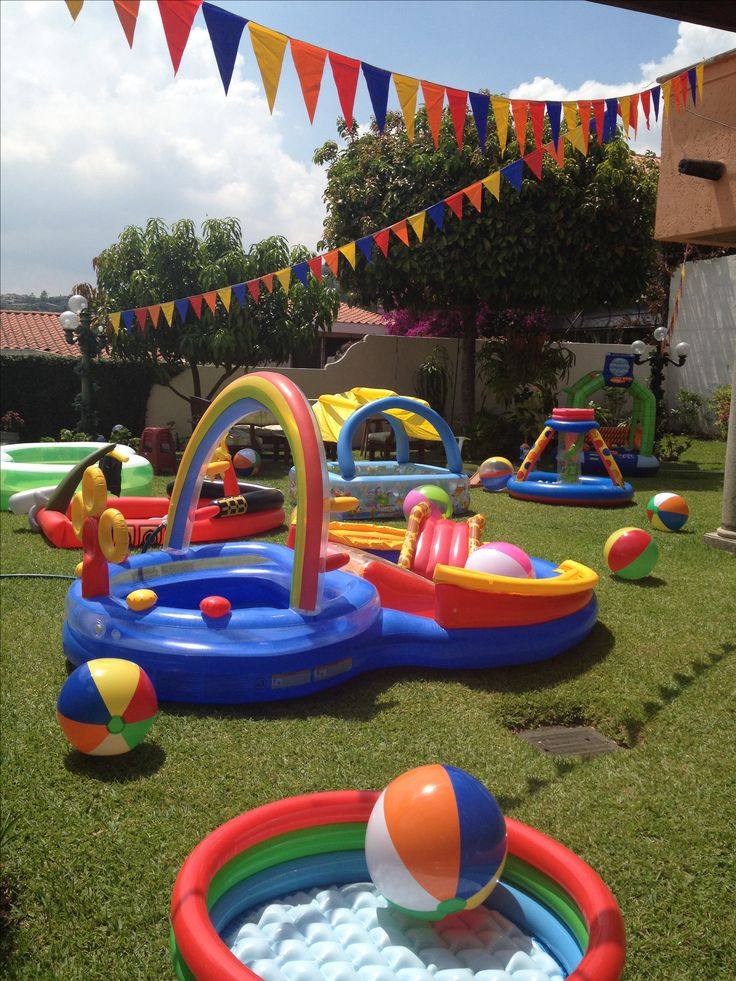 First Birthday Pool Party Ideas  1st Birthday Pool Party Juan Diego s Wish List