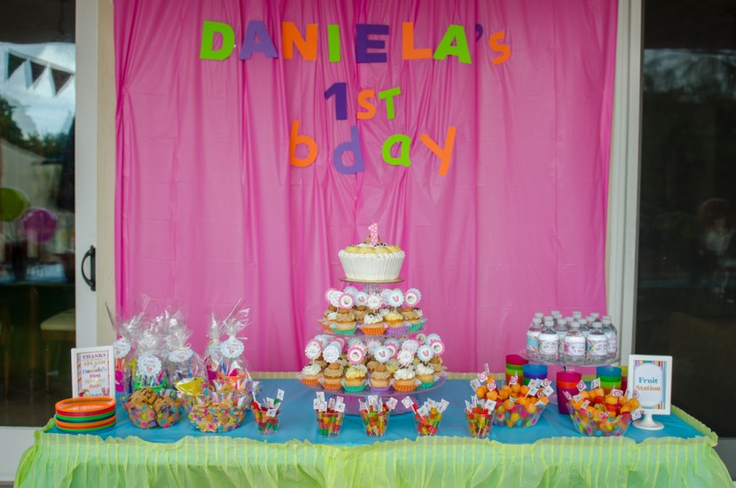 First Birthday Pool Party Ideas  Daniela's 1st Birthday Pool Party in South Miami
